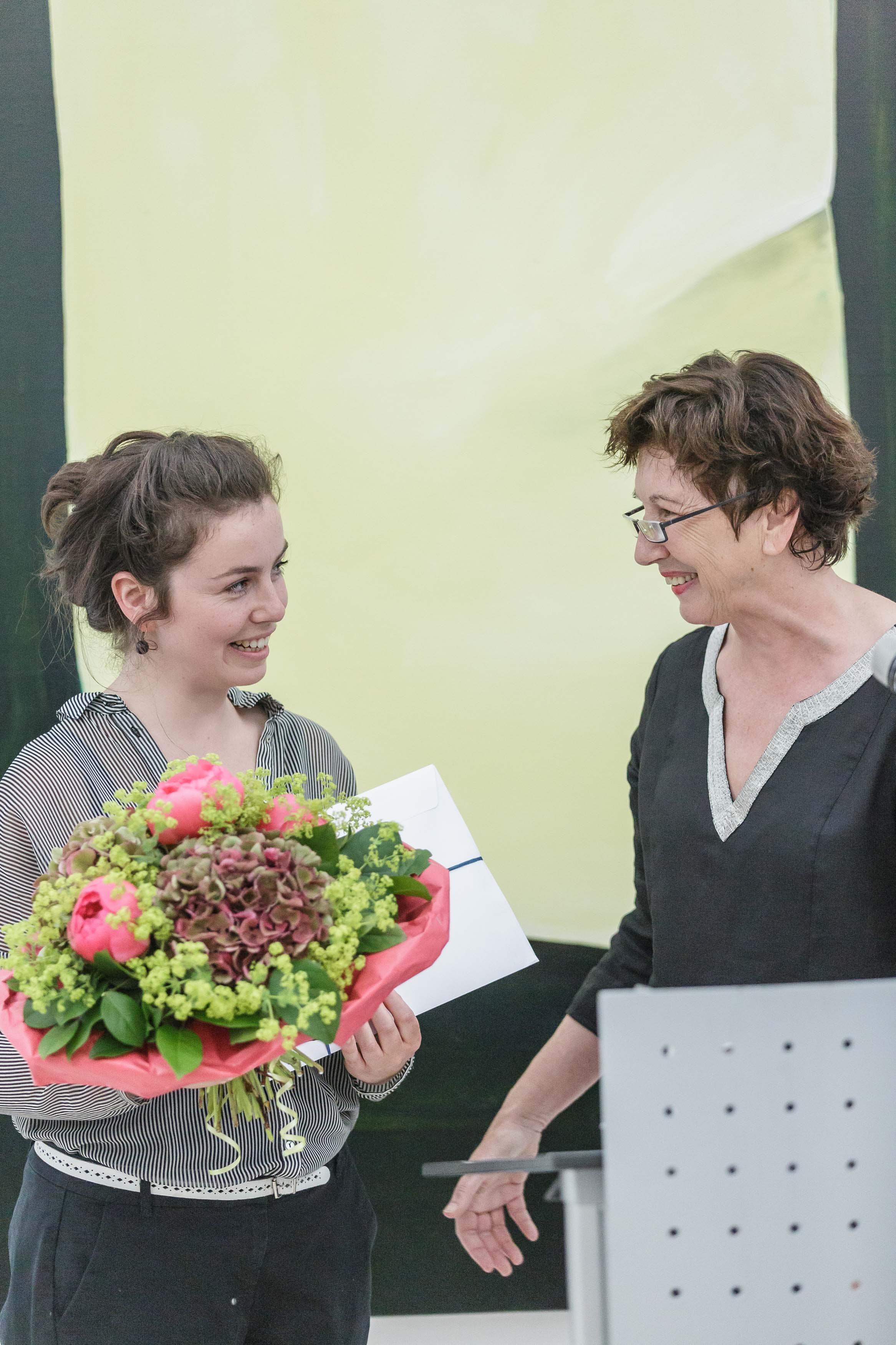 Johanna Schelle erhält den Kunstpreis 2017